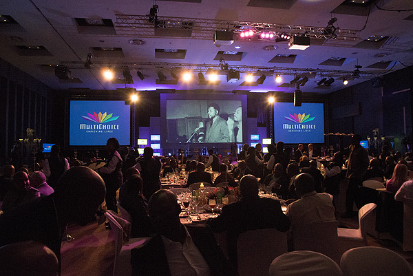 The gala dinner at the Sandton Convention Centre for the hand over of the ANC Digital Archive, April 29, 2013