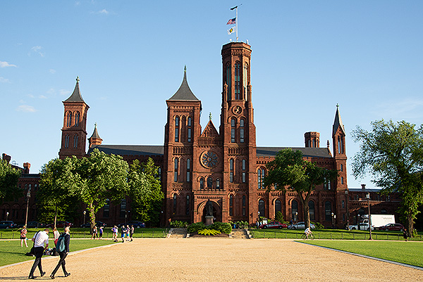 The Castle is the iconic building of the Smithsonian Institute and serves as the Visitor Centre of the Institute. The IIIF Conference was hosted in the building one evening for a reception.